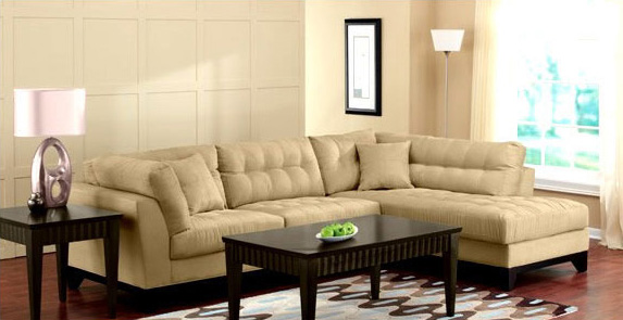 Light tufting ... : stylish sectionals - Sectionals, Sofas & Couches