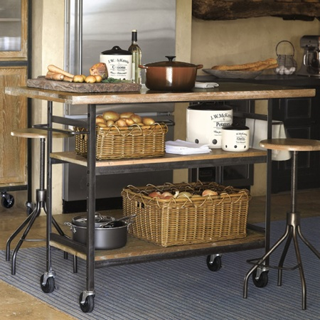 Ten ways to update a rental furniture connexion for Kitchen trolley designs catalogue